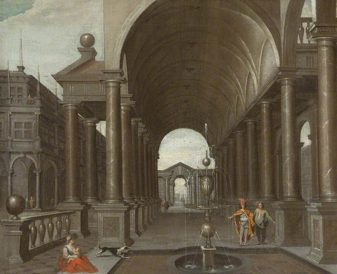 6 Examples of architecture in paintings - Sheet1