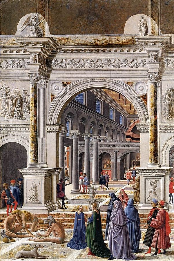 6 Examples of architecture in paintings - Sheet6