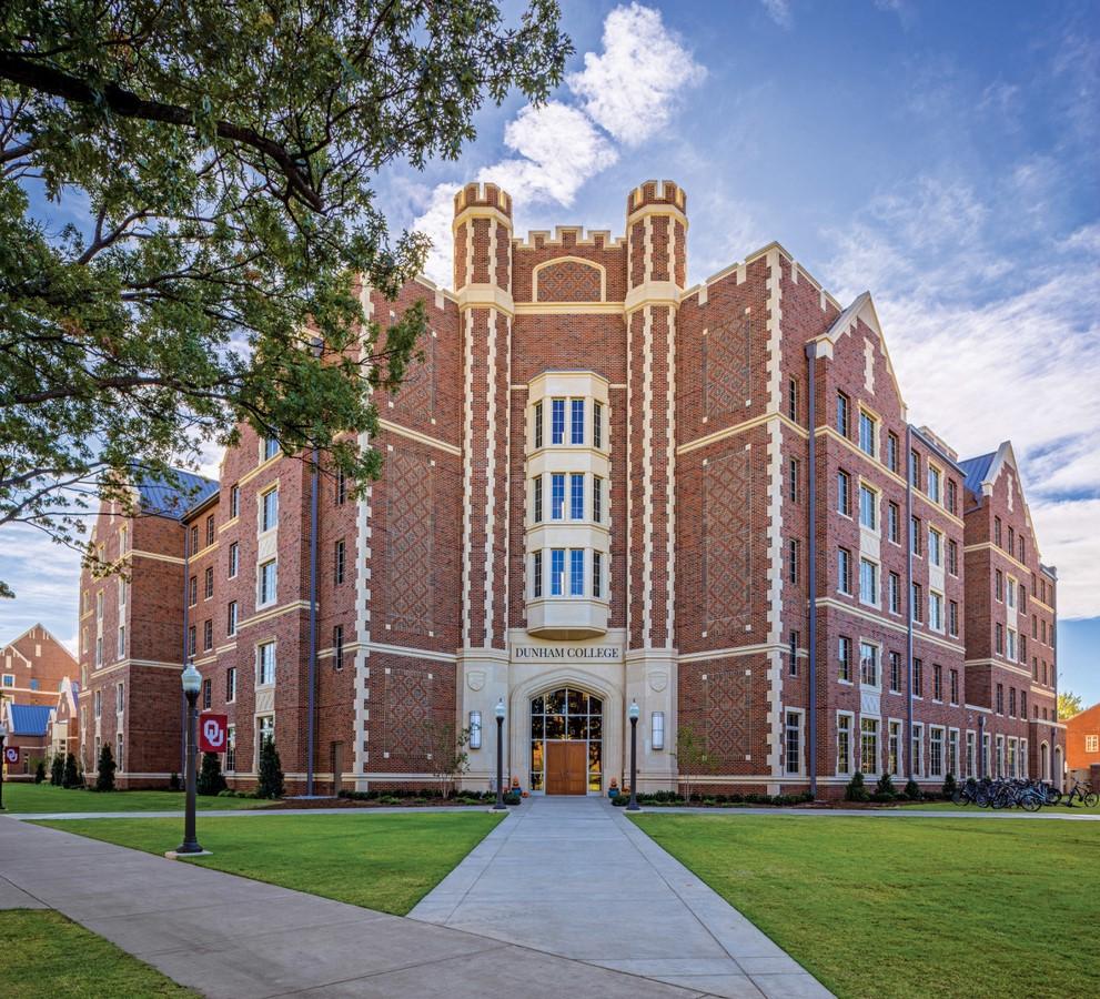 University of Oklahoma - Sheet1