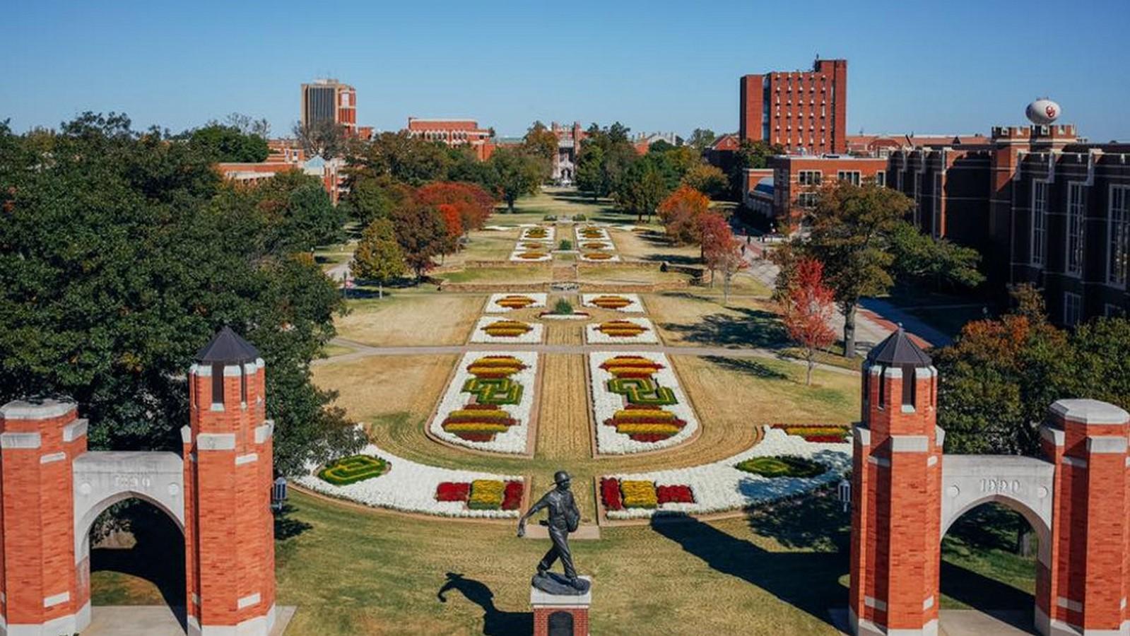 University of Oklahoma - Sheet2