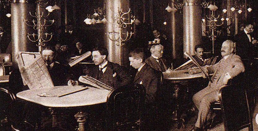 Café Central, Vienna: The Chess School - Sheet3
