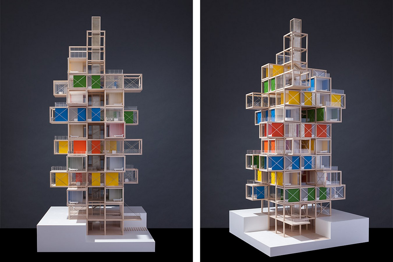 The Tree House by Rogers Stirk Harbour + Partners: The Stacked Apartment Building - Sheet2