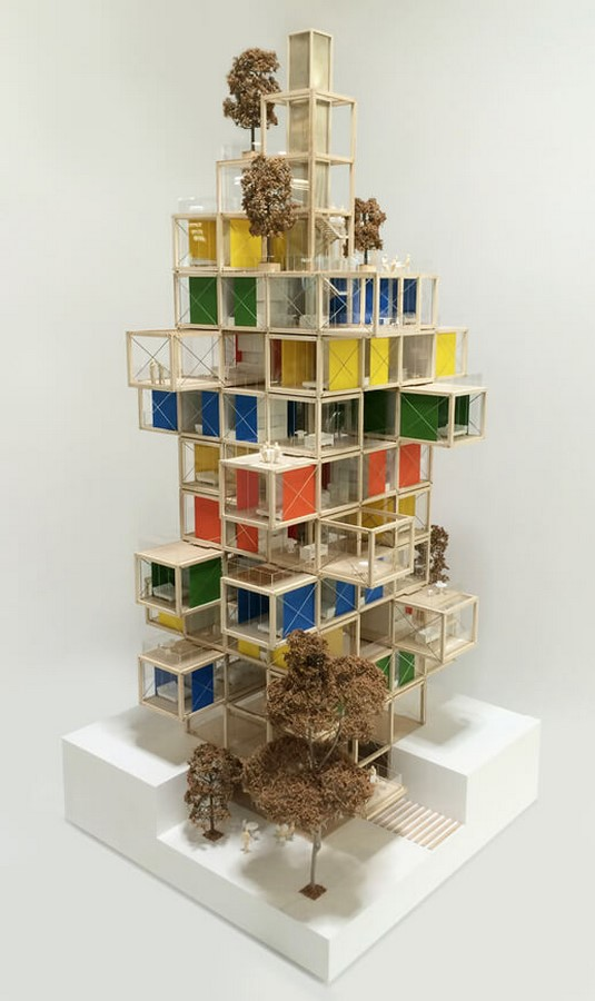 The Tree House by Rogers Stirk Harbour + Partners: The Stacked Apartment Building - Sheet3
