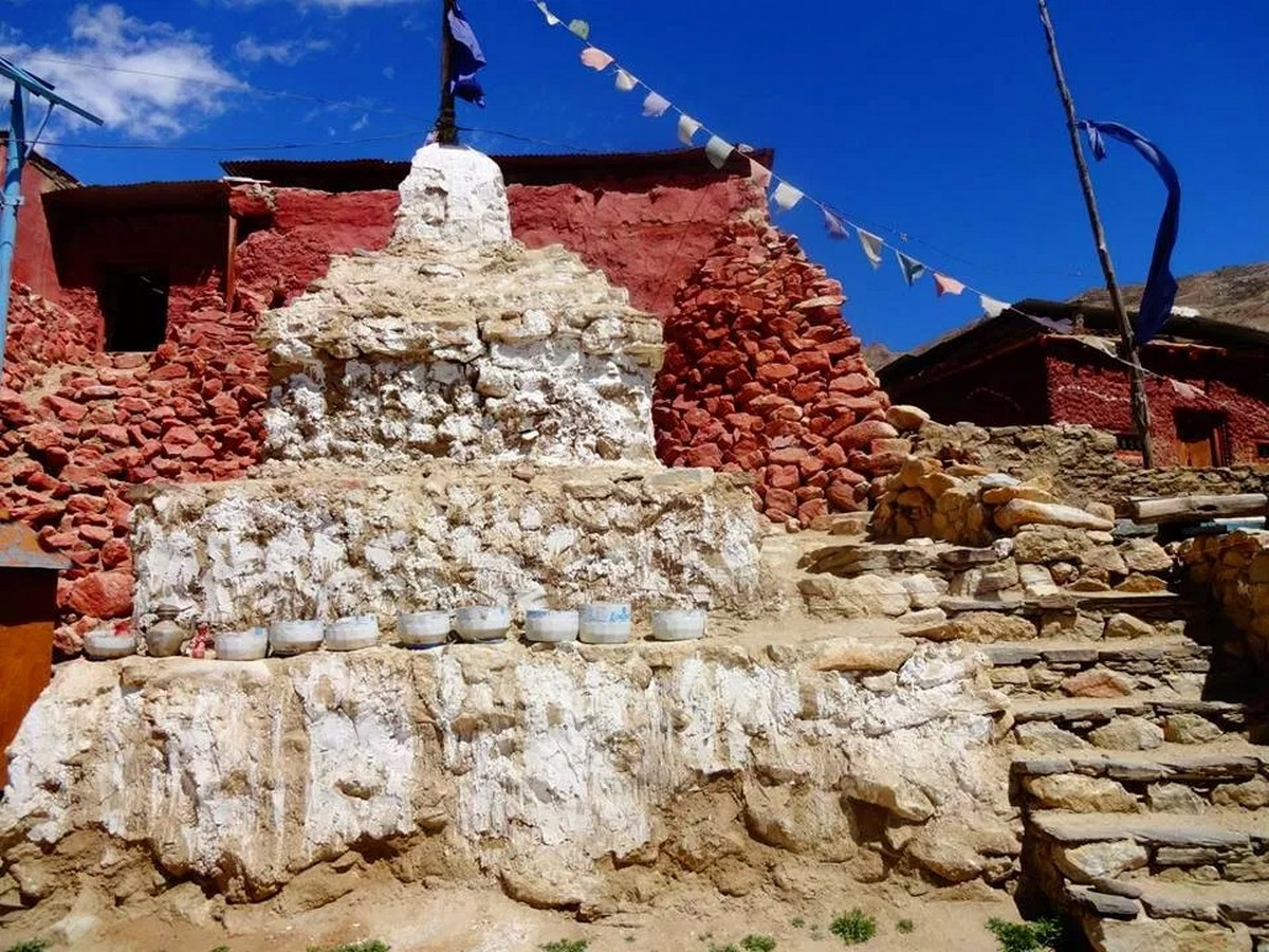 The Nako Valley Research and Conservation: The Monastery of Lotsawa Lhakhang - Sheet6