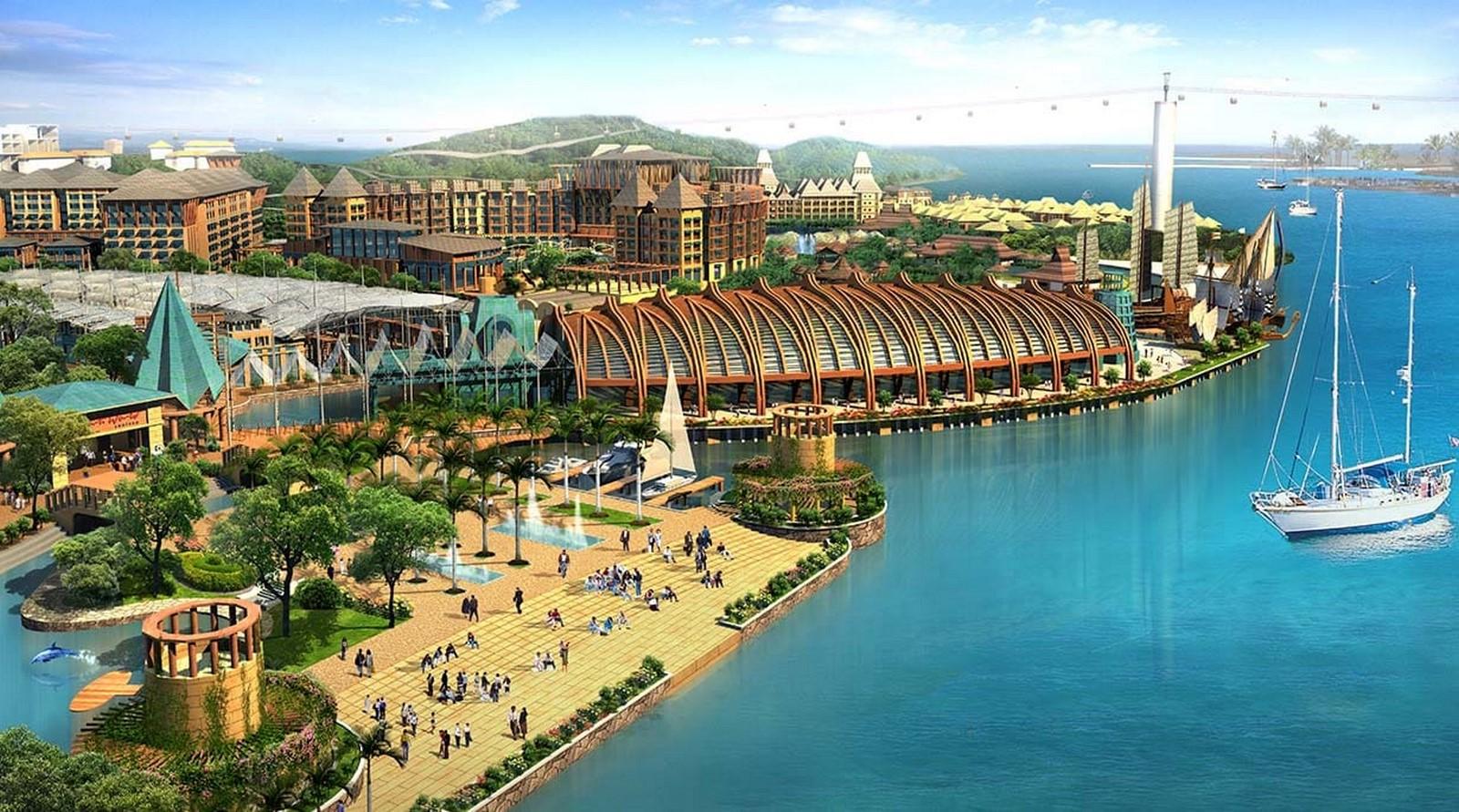 Resorts World Sentosa, Singapore - Sheet3