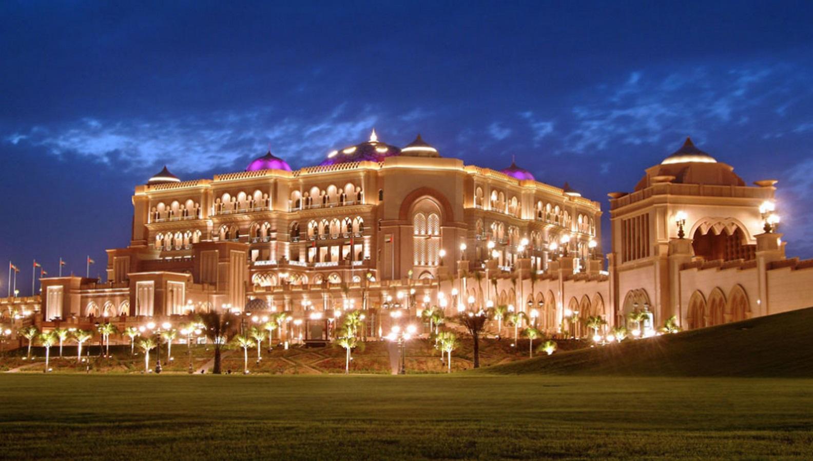 Emirates Palace, Abu Dhabi, UAE - Sheet1