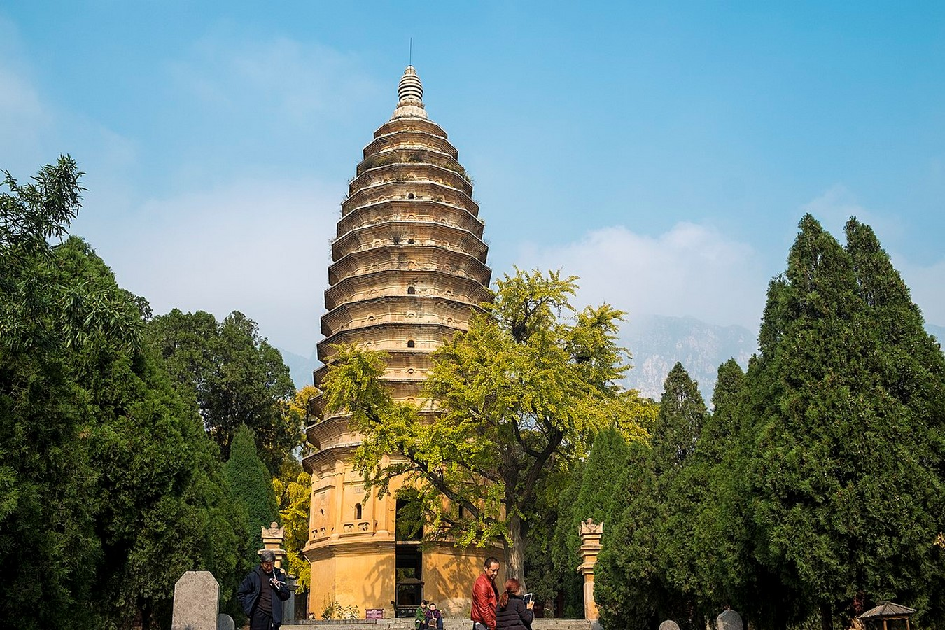 Songyue Pagoda - Sheet1
