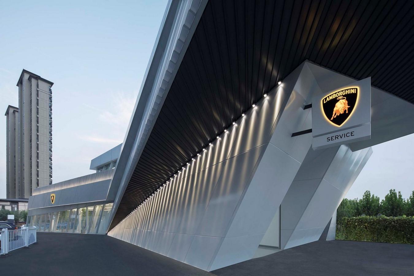 Lamborghini Exhibition Centre - Sheet1