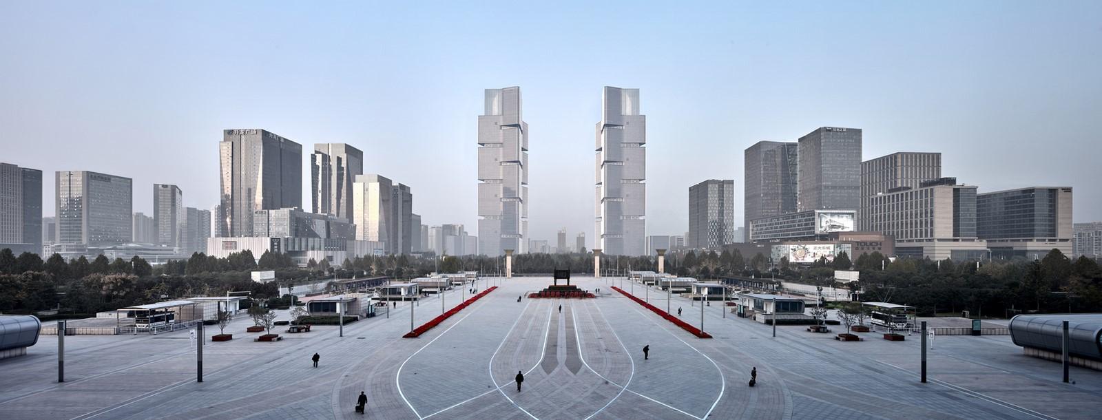 Zhengzhou Twin Towers - Sheet2