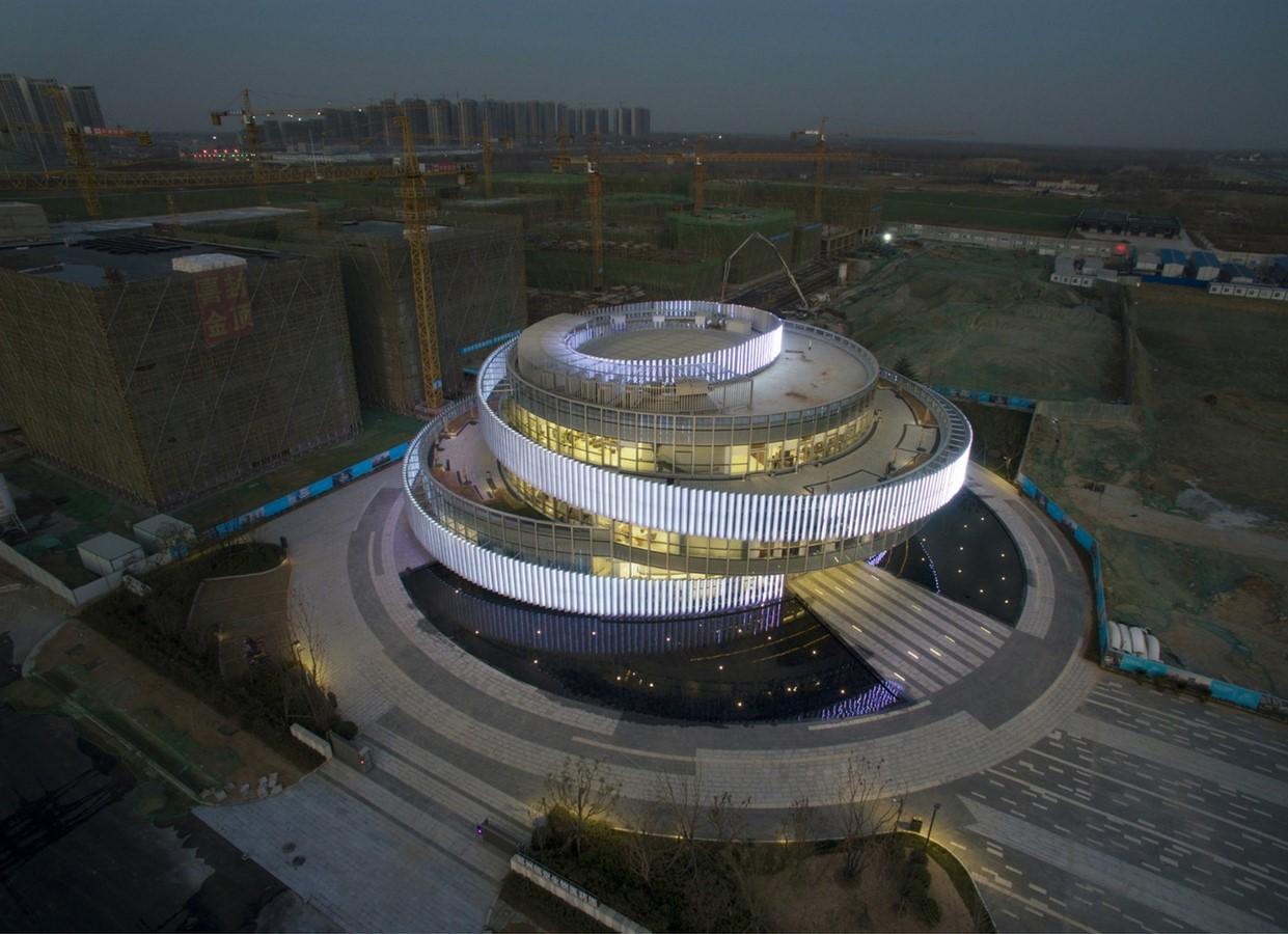 Exhibition Centre of Zhengzhou Linkong Biopharmaceutical Park - Sheet1