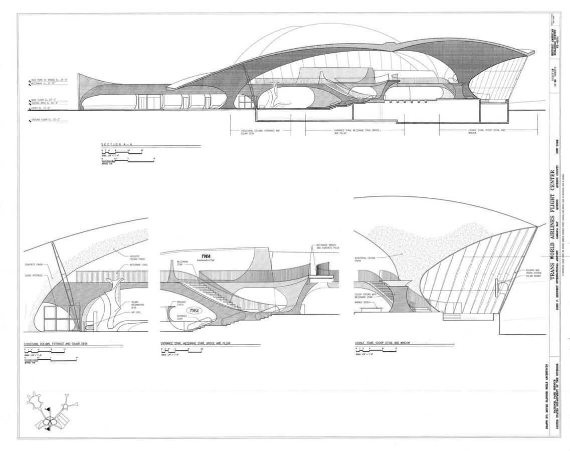 TWA Flight Centre, New York by Eero Saarinen: Capturing the Spirit of Flight - Sheet13