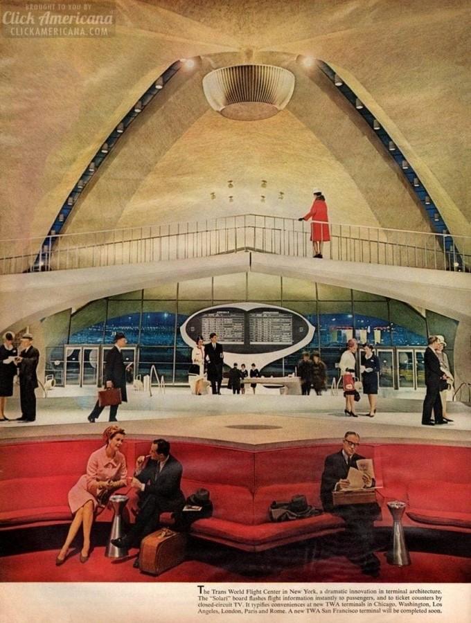 TWA Flight Centre, New York by Eero Saarinen: Capturing the Spirit of Flight - Sheet2