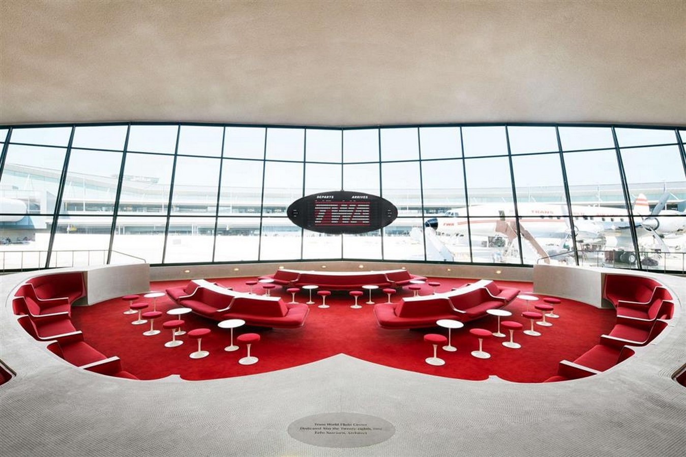 TWA Flight Centre, New York by Eero Saarinen: Capturing the Spirit of Flight - Sheet23