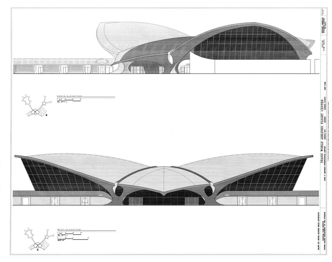 TWA Flight Centre, New York by Eero Saarinen: Capturing the Spirit of Flight - Sheet4