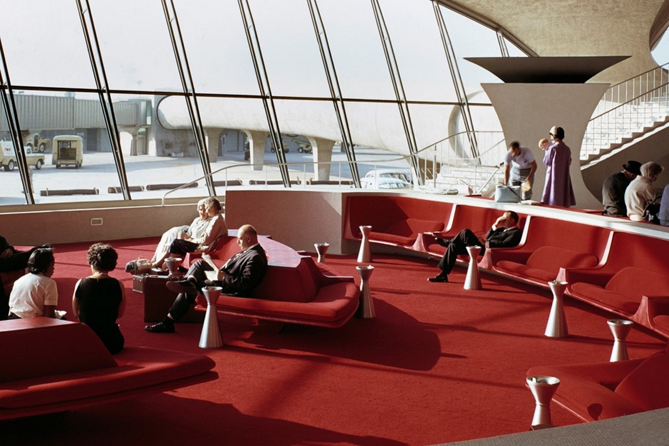 TWA Flight Centre, New York by Eero Saarinen: Capturing the Spirit of Flight - Sheet5