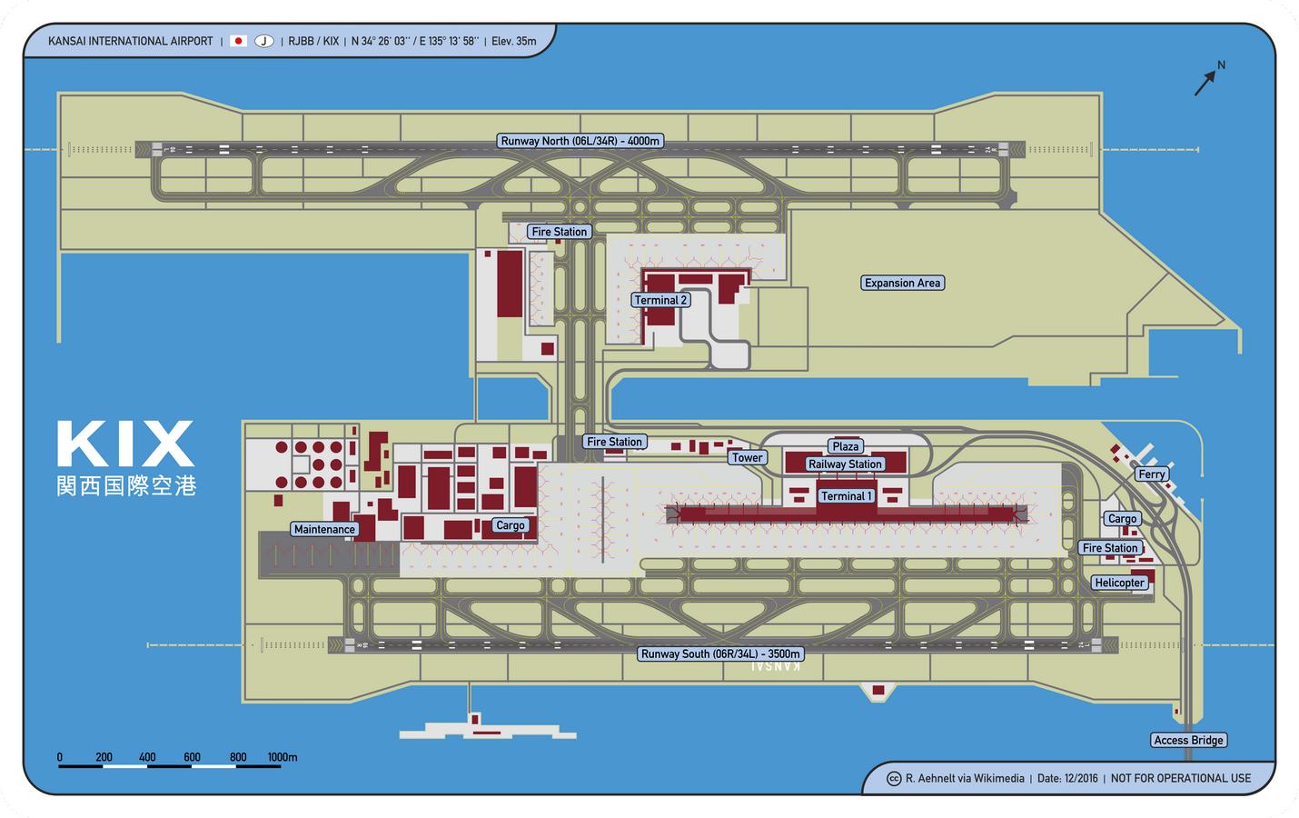 Kansai International Airport by Renzo Piano: Airport on the Artificial Island - Sheet3