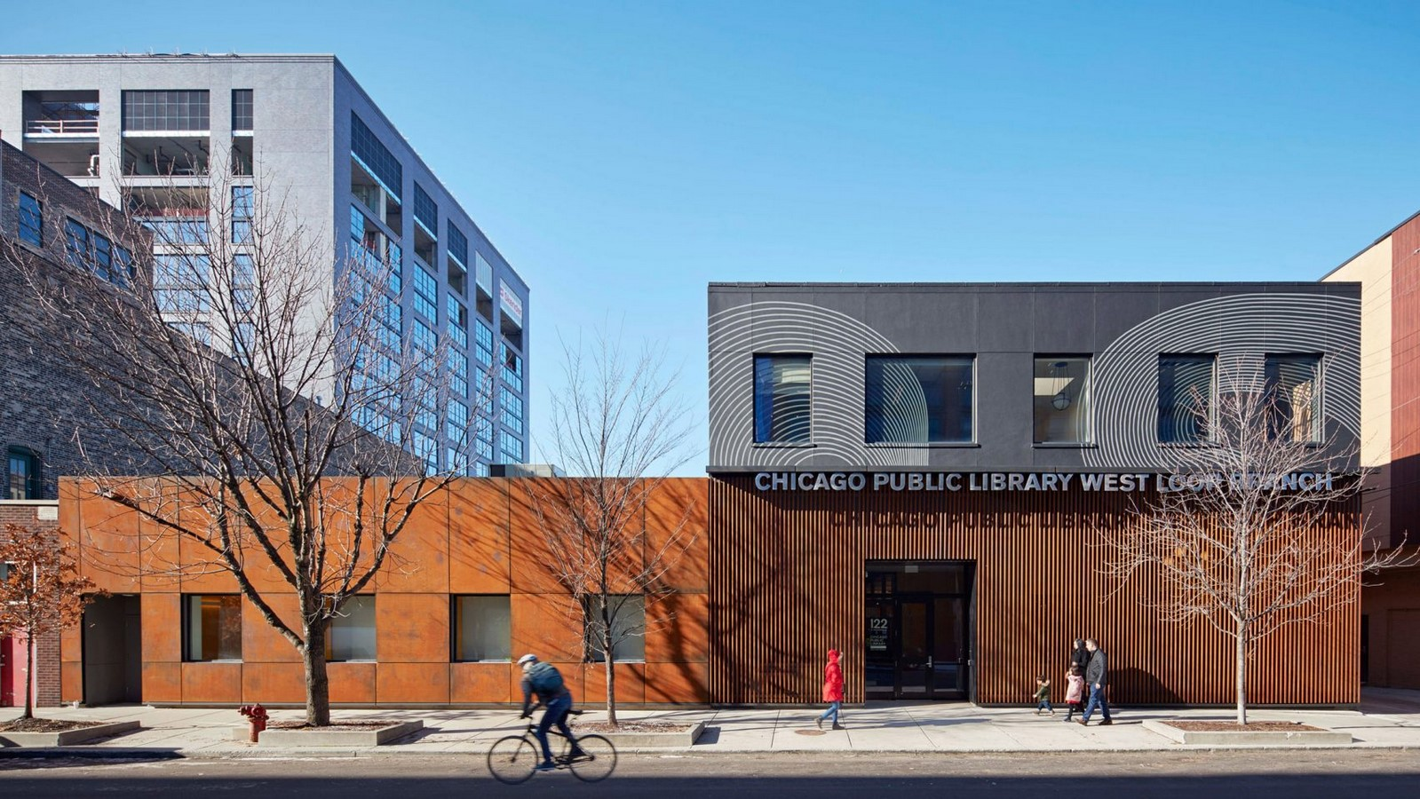 Chicago Public Library West Loop - Sheet1