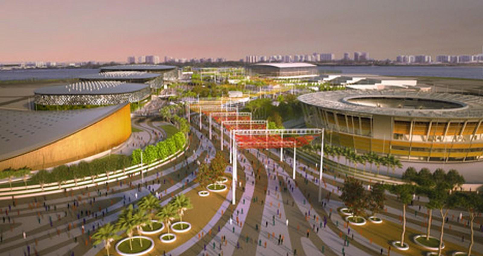 Rio Olympic Park - Sheet3