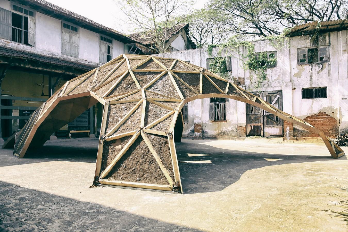 The Shell Mycelium Pavilion, India - Sheet1
