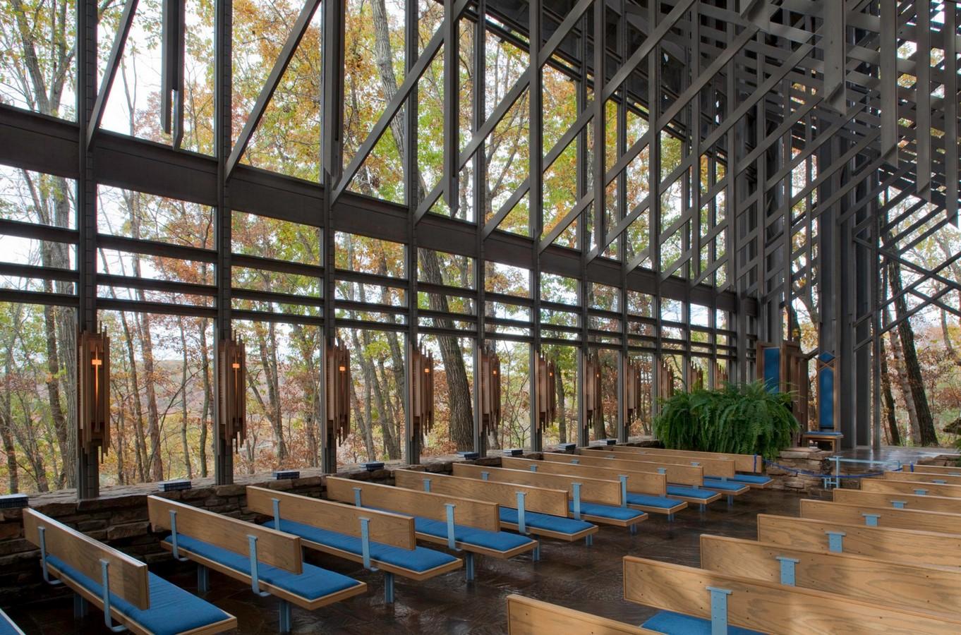Thorncrown Chapel, Arkansas - Sheet2