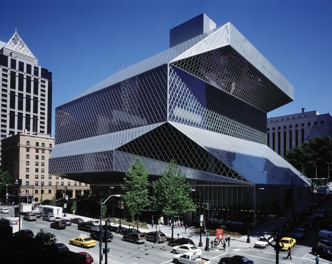 Seattle Central Library, Washington (2004) - Sheet1