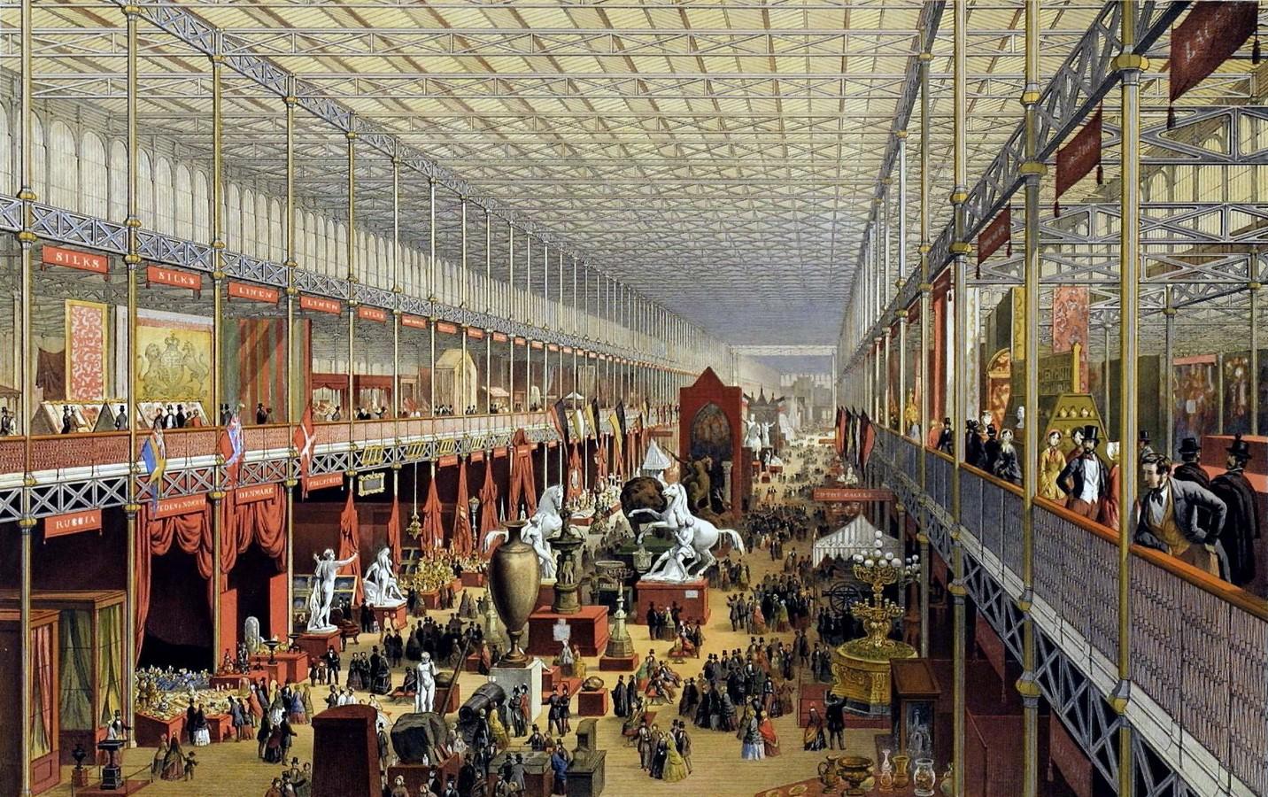 The Crystal Palace, London (1851) - Sheet2