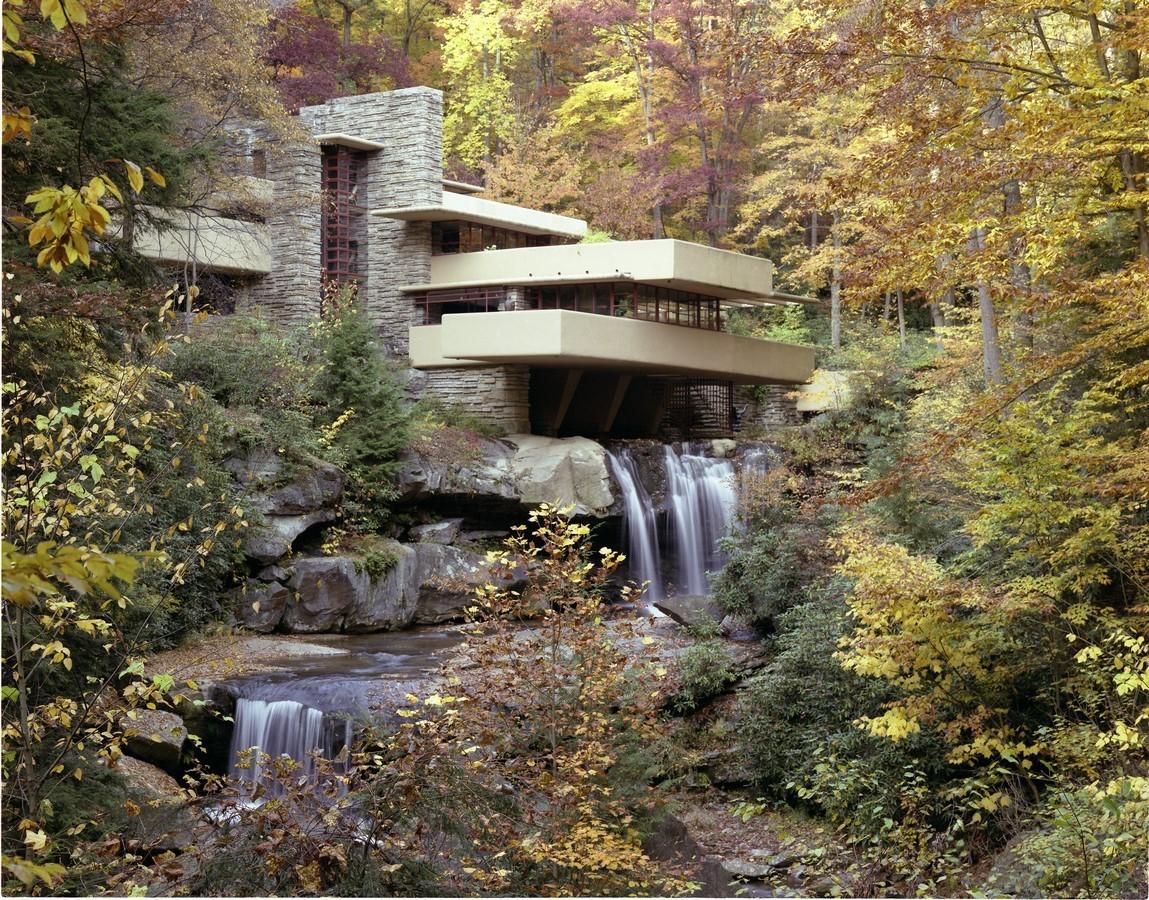 Fallingwater House - Sheet1