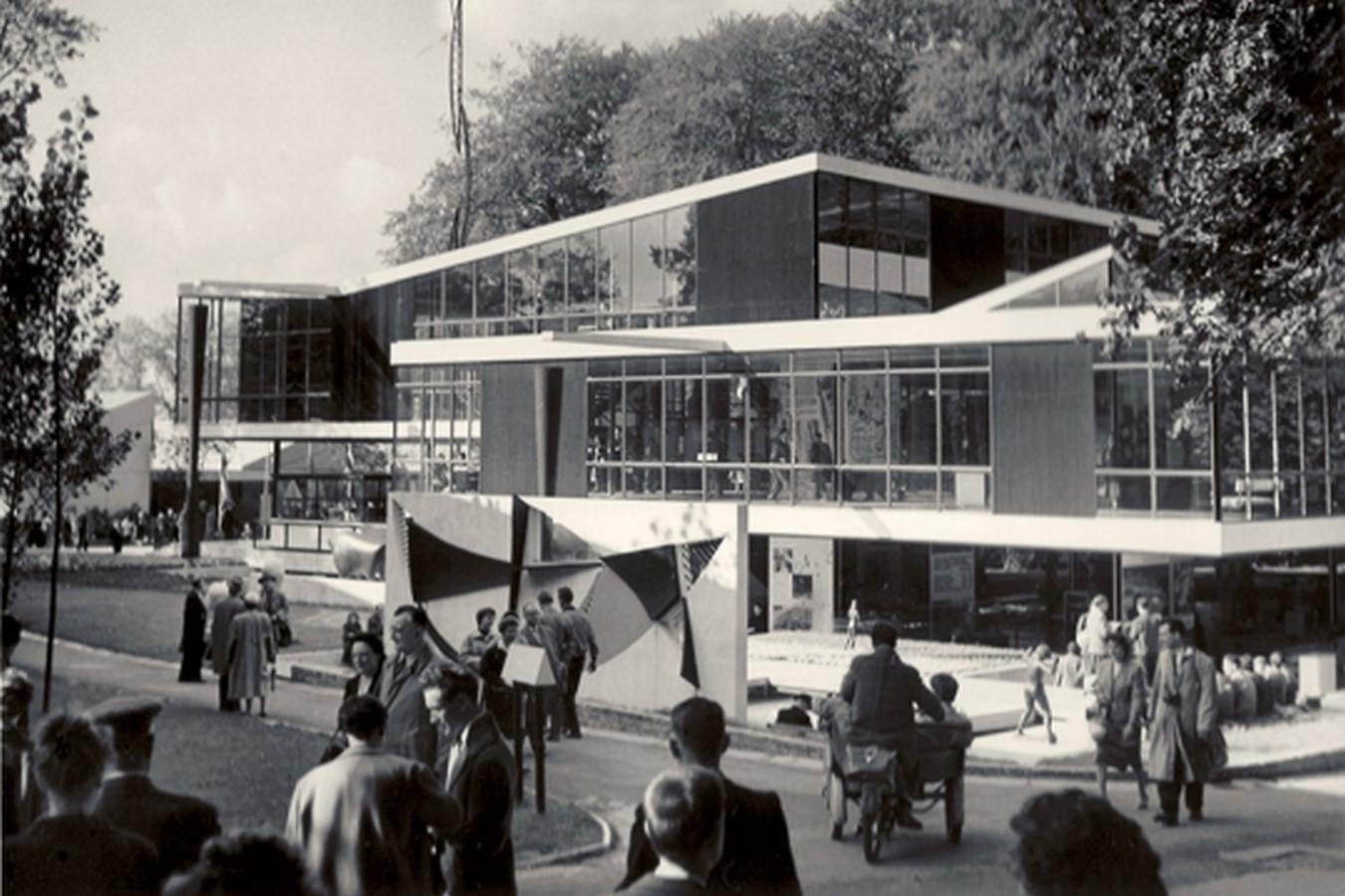 Yugoslavia Pavilion in Brussels World's Fair, 1958 - Sheet2