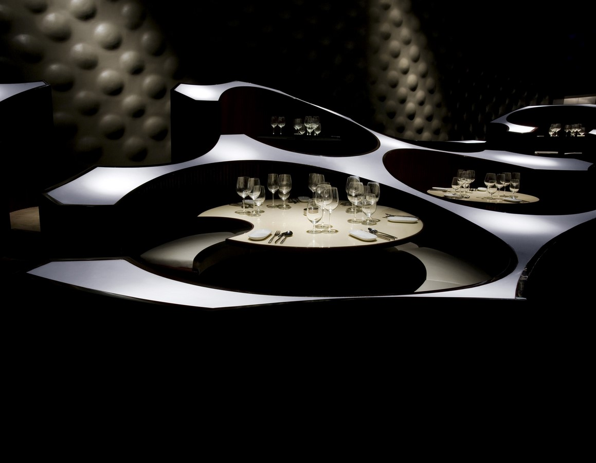 The Blue Frog Acoustic Lounge by Serie Architects: A cellular organization of circles - Sheet7