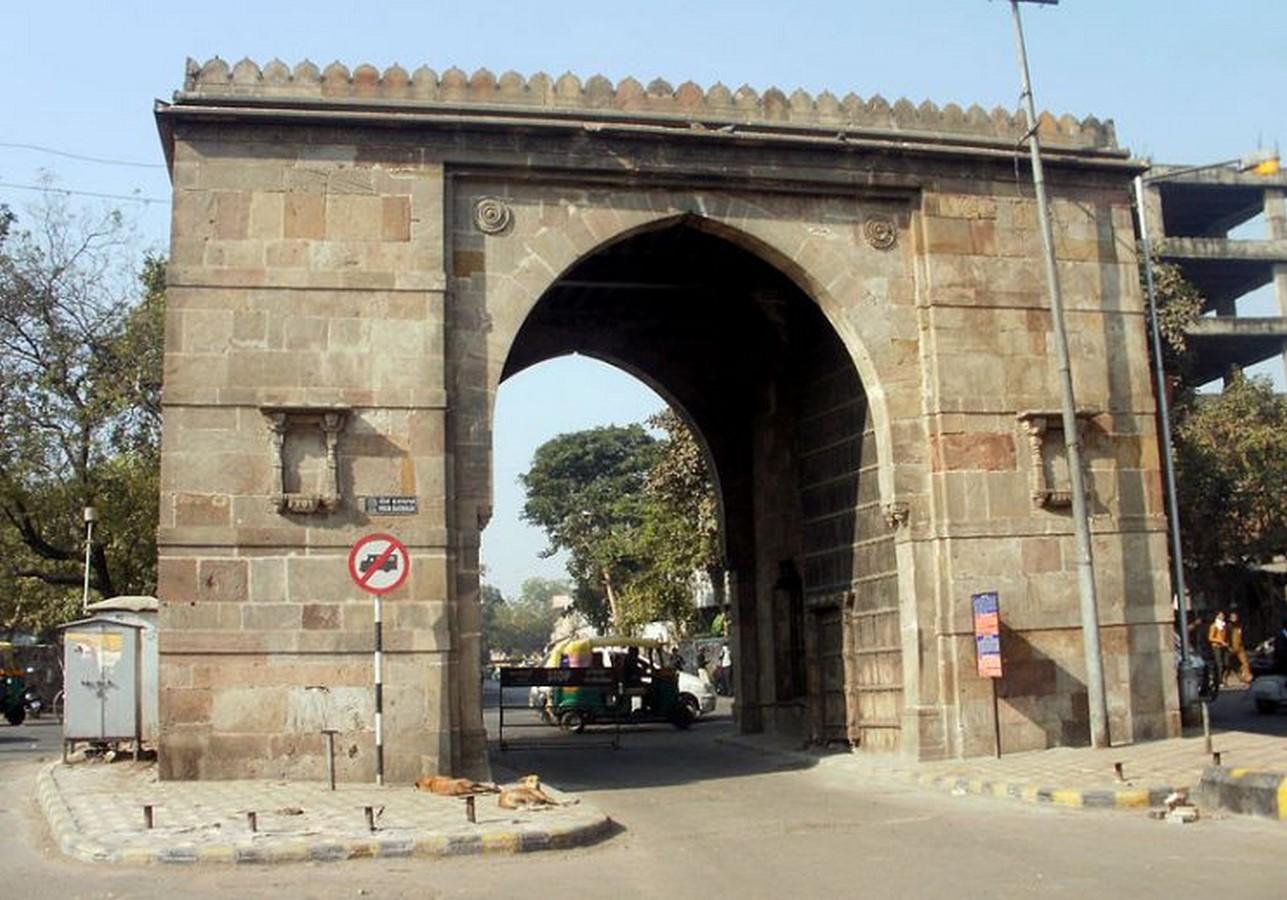 The Gates or Darwazas of Ahmedabad - Sheet10