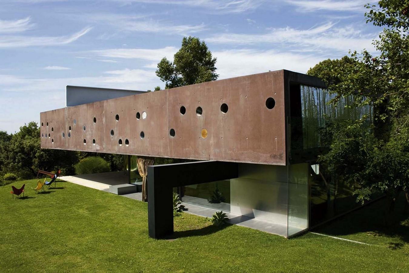 Maison Bordeaux by Rem Koolhaas: The living house - Sheet13