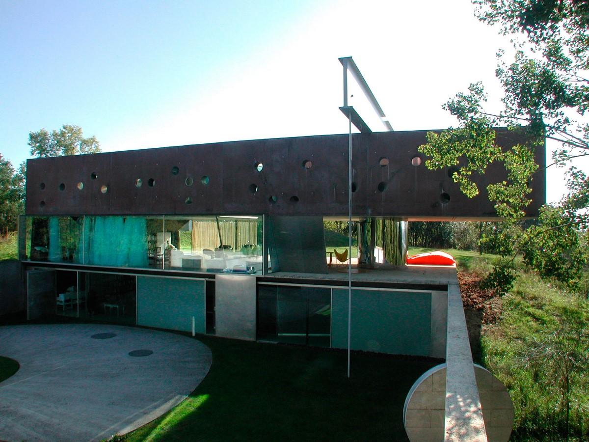 Maison Bordeaux by Rem Koolhaas: The living house - Sheet7