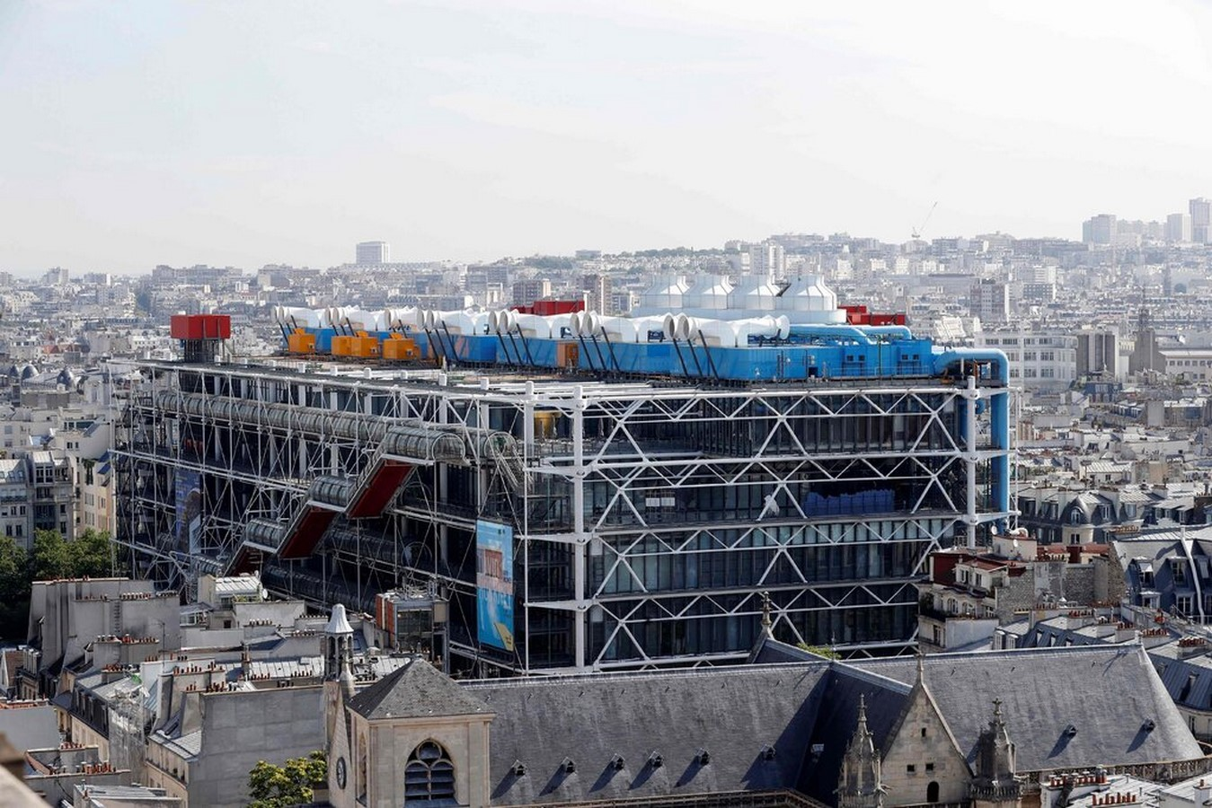 Pompidou Center to Close Completely for Renovations from 2023 to 2027 - Sheet1