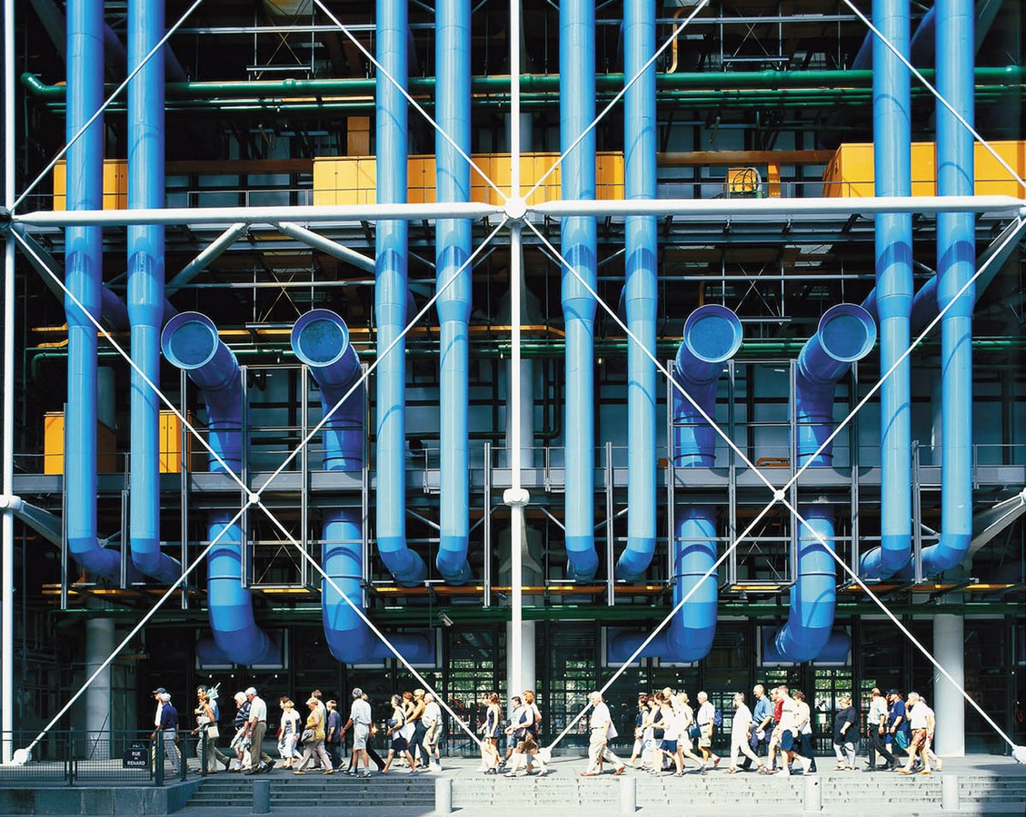 Pompidou Center to Close Completely for Renovations from 2023 to 2027 - Sheet2