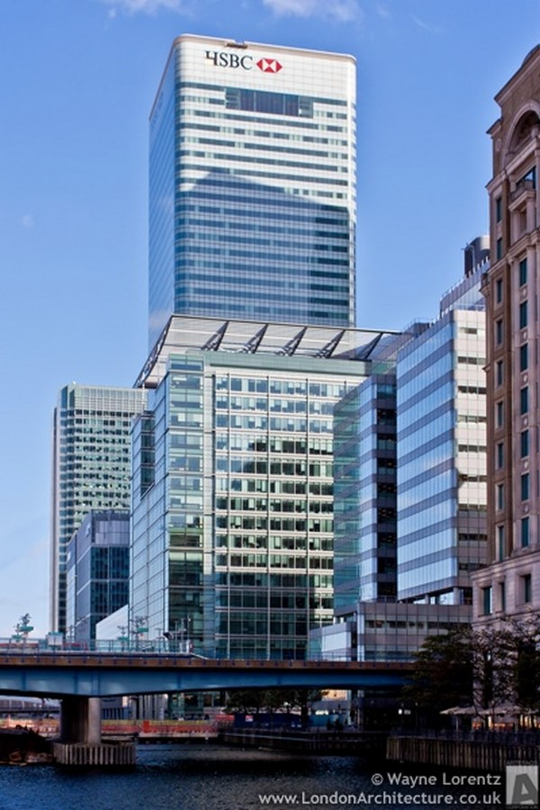 8 Canada Square/ HSBC Tower - Sheet3