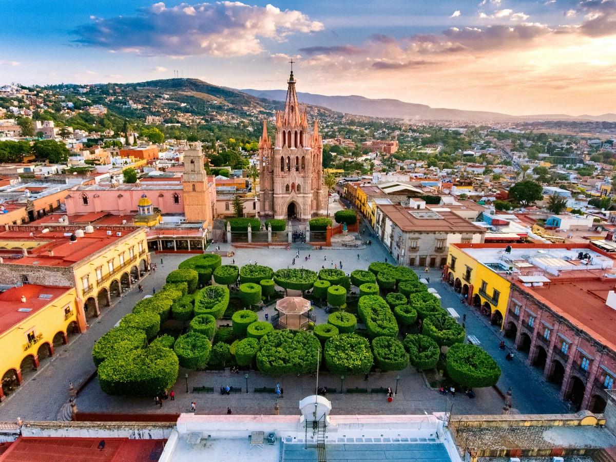 El Jardín, San Miguel de Allende - Sheet1
