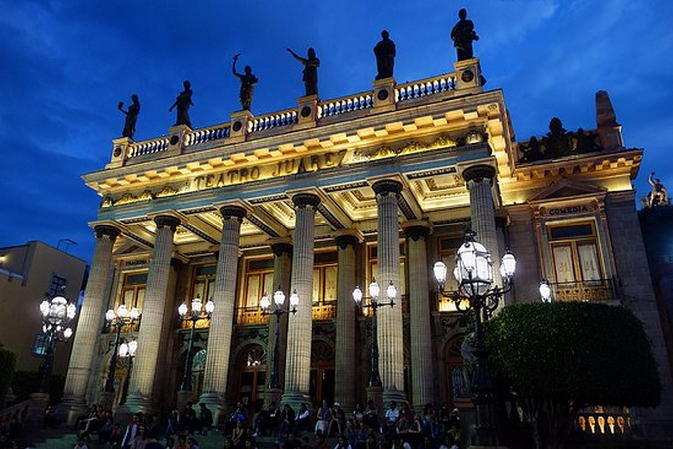 Teatro Juárez - Sheet2