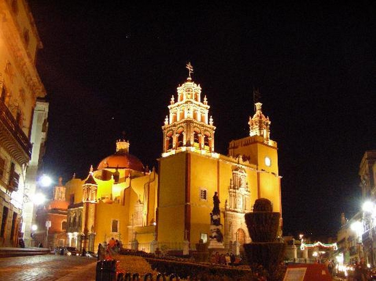 The Basilica of Our Lady of Guanajuato - Sheet2
