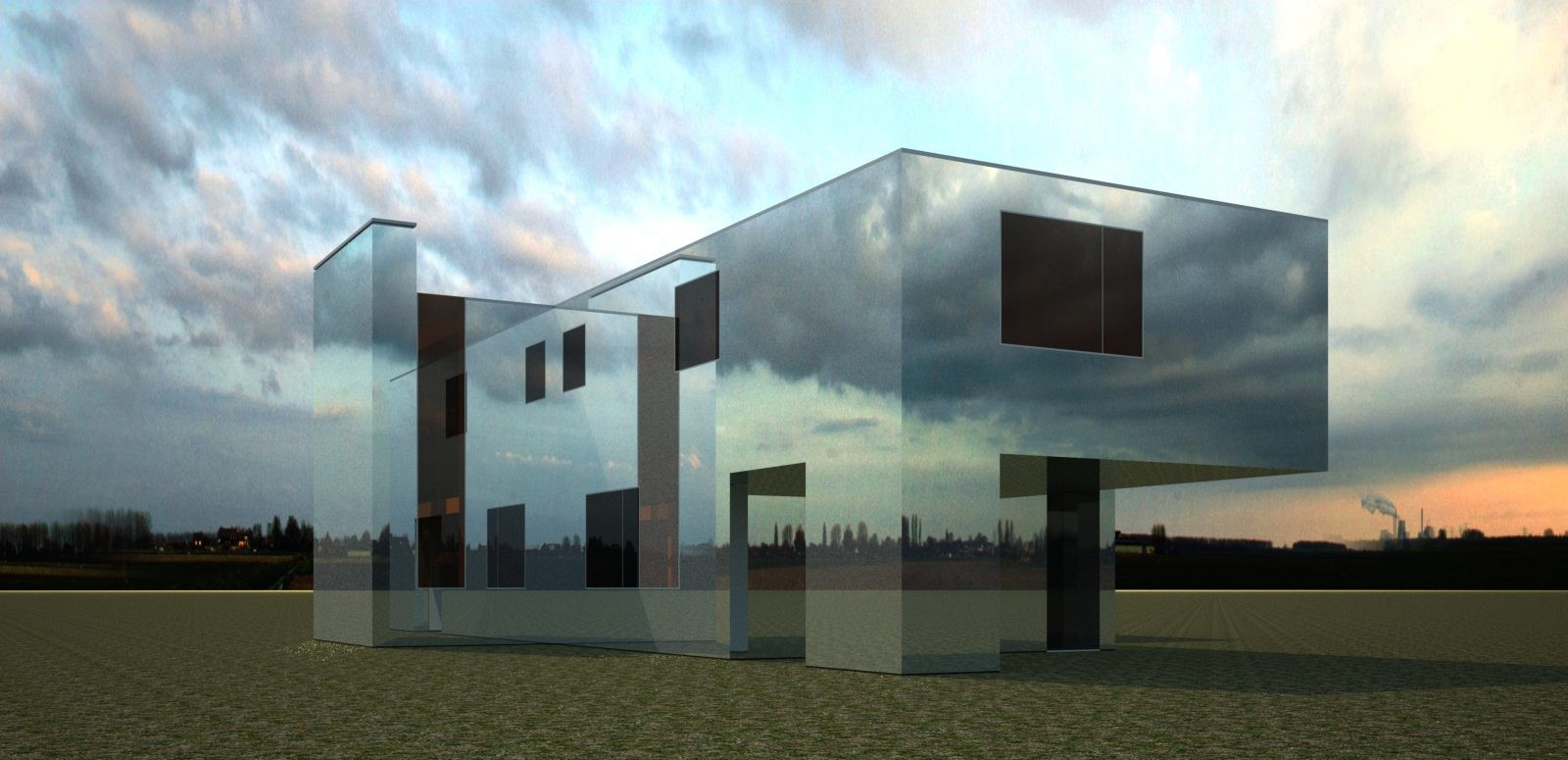 Mirror House by Pedro Joel Costa: The invisible building - Sheet3