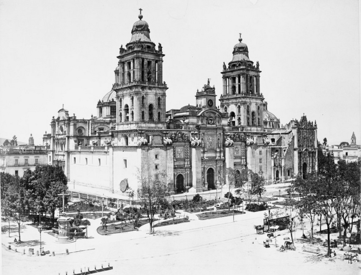 Mexico City Metropolitan Cathedral, Mexico: Sacred sites of the Aztecs - Sheet2