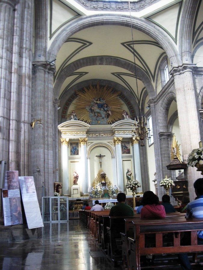 Mexico City Metropolitan Cathedral, Mexico: Sacred sites of the Aztecs - Sheet4