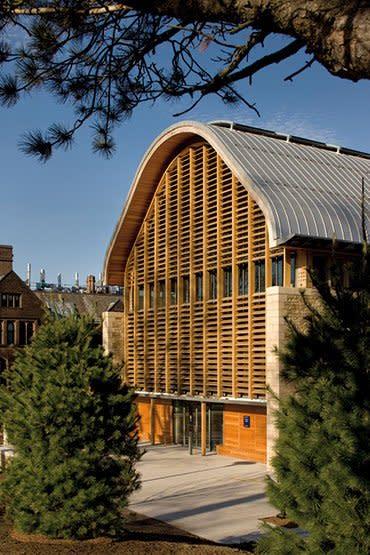 Yale University: Kroon Hall, School of Forestry and Environmental Studies - Sheet2