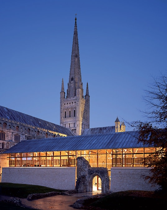 Norwich Cathedral Hostry - Sheet1