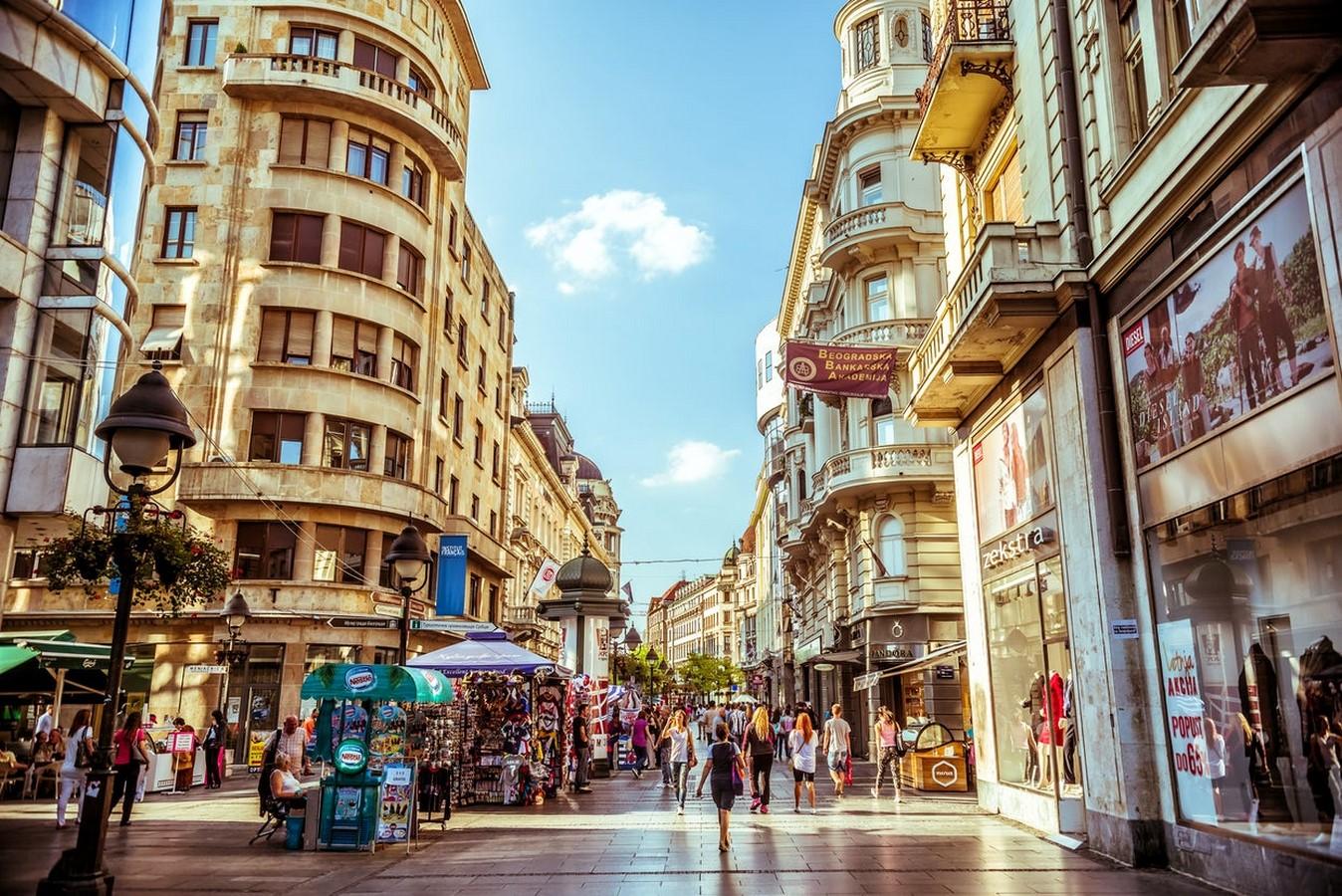 Knez Mihailova Street - Sheet1