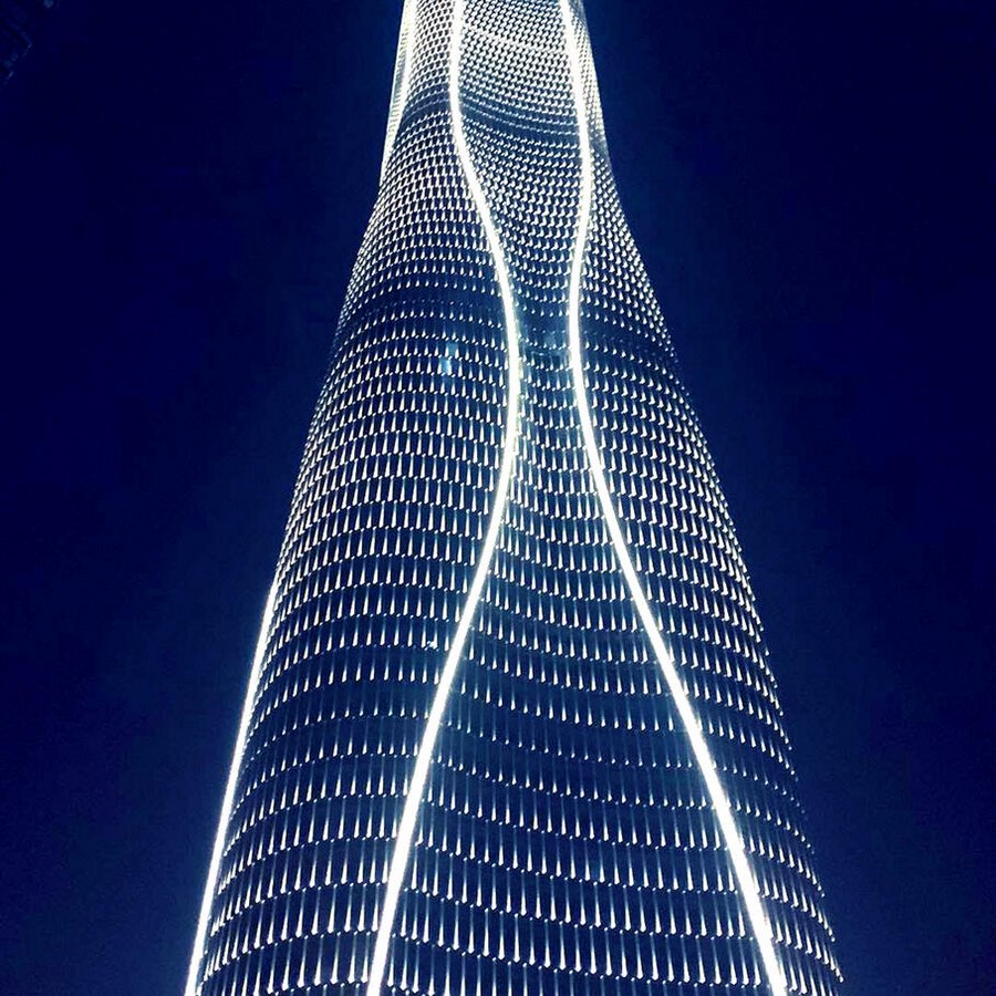 One of China's tallest skyscrapers: the Tianjin CTF Finance Centre - Sheet3