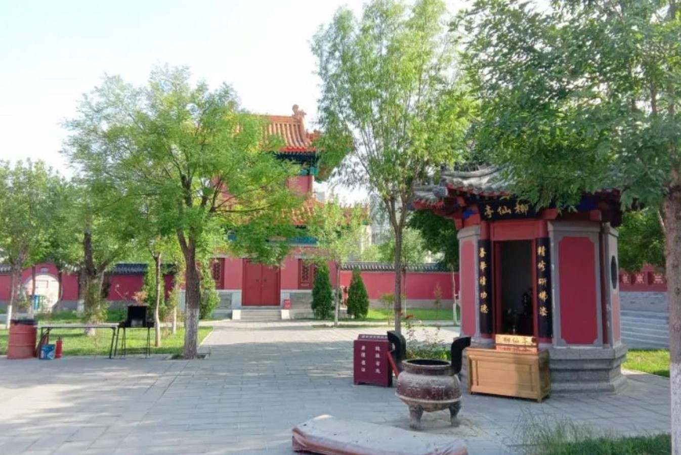 A religious stop at the Chaoyin Temple - Sheet2