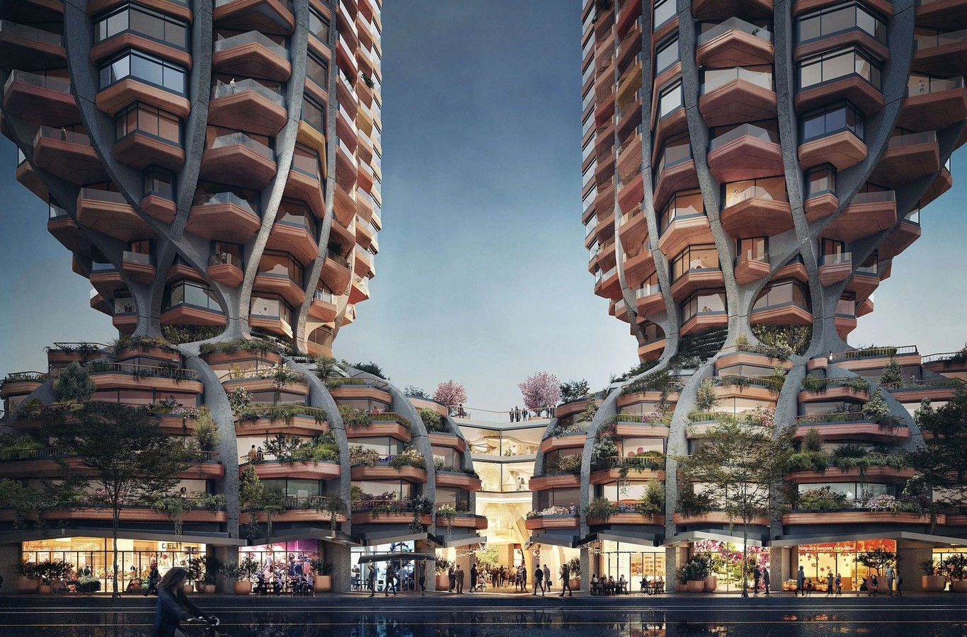 Heatherwick Studio Unveils Pair of Curvaceous Towers for Vancouver - Sheet1