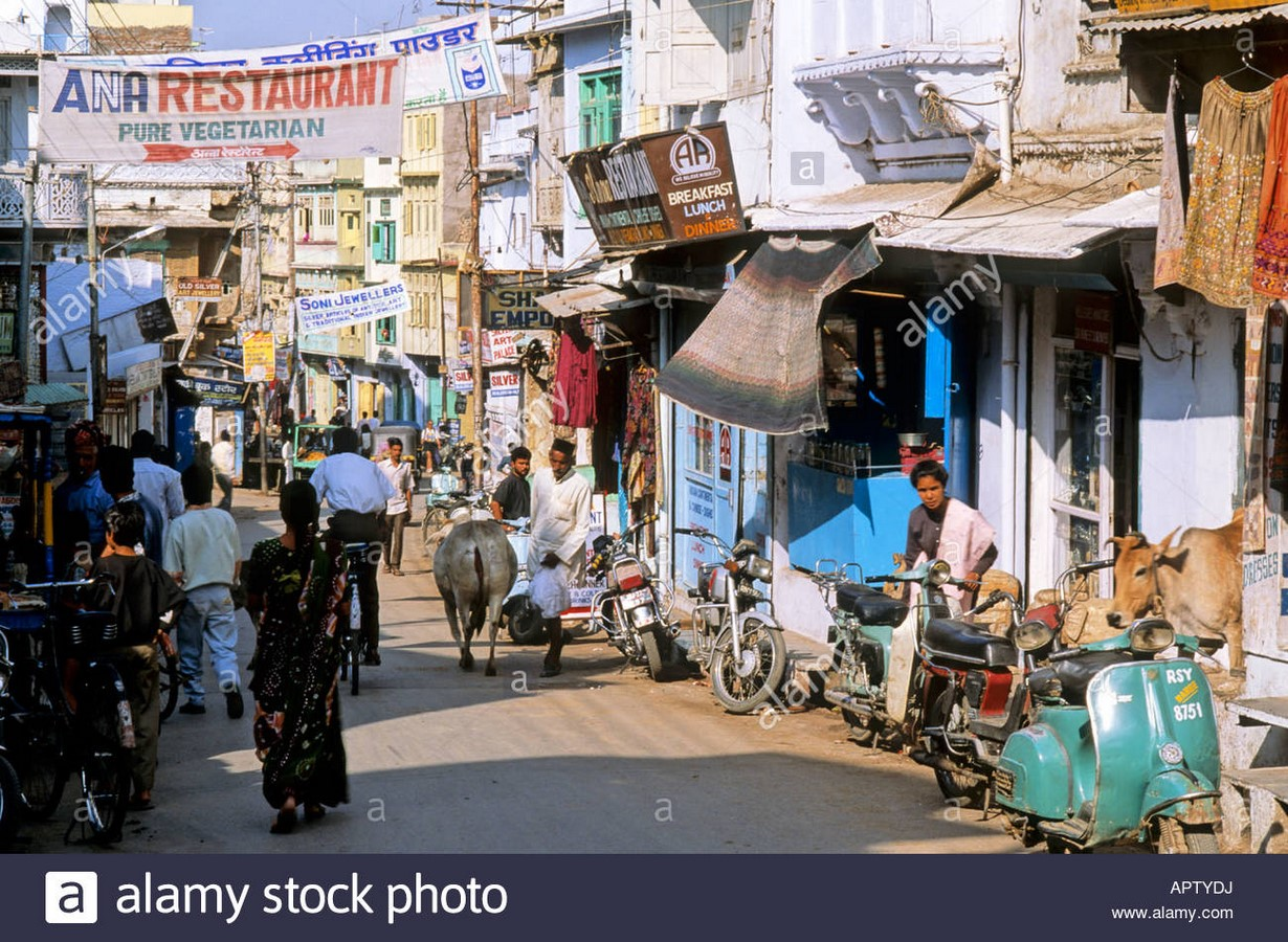 Social construct of Indian streets - Sheet2