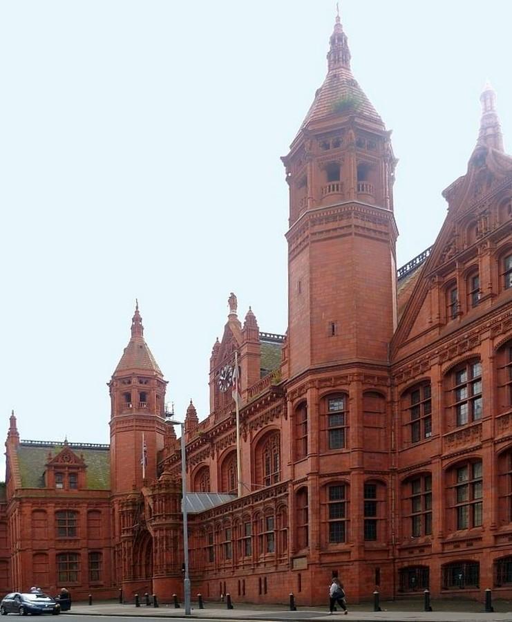 Victoria Law Courts, Birmingham, UK - Sheet1
