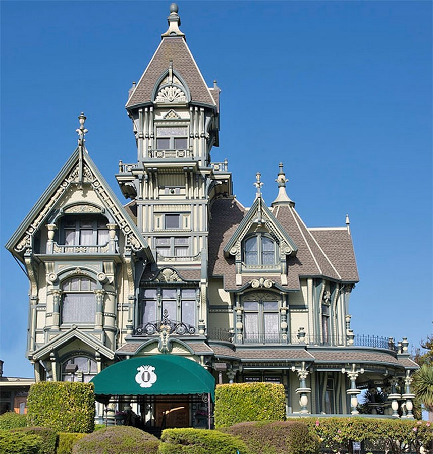 Carson Mansion, California, USA - Sheet1